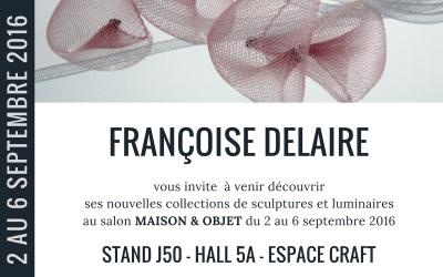 Salon Maison&Objet, 2-6 septembre 2016
