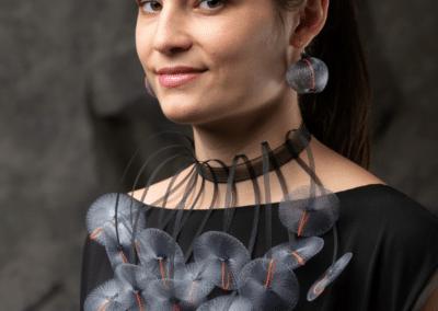 Tour de cou Couture - Collection Pleine Lune - Moonlight 2020 F Delaire